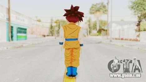 Dragon Ball Xenoverse Gohan Teen DBS SSG v2 für GTA San Andreas dritten Screenshot