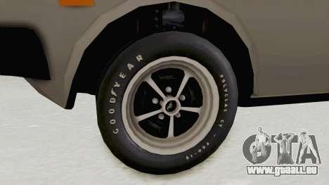 Fiat 131 Supermirafiori pour GTA San Andreas vue arrière
