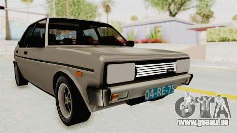 Fiat 131 Supermirafiori 1977 pour GTA San Andreas