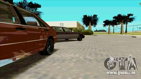 Mercedez-Benz W140 für GTA San Andreas linke Ansicht
