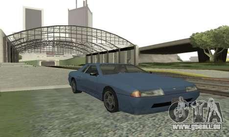 Standard Élégie avec un aileron rétractable pour GTA San Andreas laissé vue