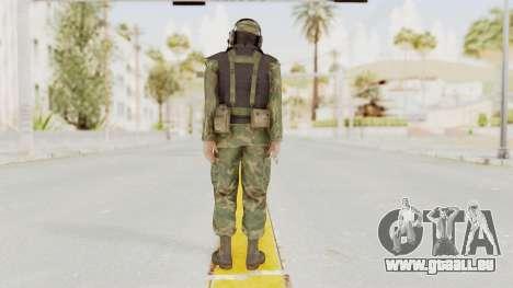 MGSV Ground Zeroes US Pilot v1 für GTA San Andreas dritten Screenshot