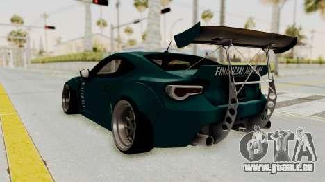 Scion FRS Rocket Bunny Killagram v1.0 pour GTA San Andreas vue de droite