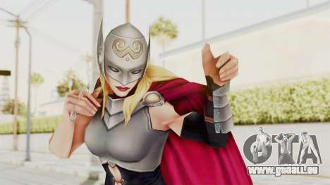Marvel Future Fight - Thor (Jane Foster) für GTA San Andreas