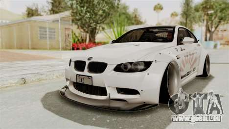 BMW M3 E92 Liberty Walk LB Performance für GTA San Andreas