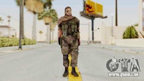 MGSV The Phantom Pain Venom Snake Scarf v6 pour GTA San Andreas deuxième écran