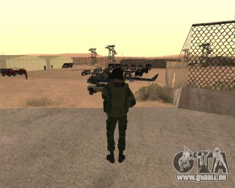 Des forces spéciales de la Fédération de russie pour GTA San Andreas quatrième écran