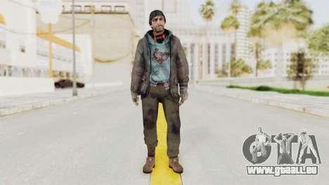 Bourne Conspirancy Homeless pour GTA San Andreas deuxième écran