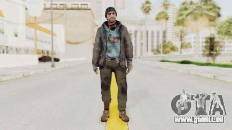 Bourne Conspirancy Homeless für GTA San Andreas zweiten Screenshot