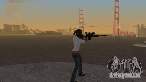 VIP Sniper Rifle für GTA San Andreas zweiten Screenshot