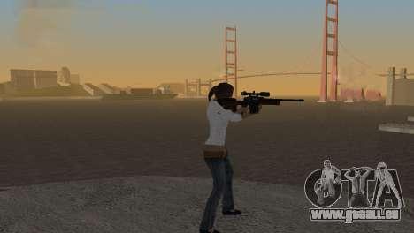 VIP Sniper Rifle pour GTA San Andreas deuxième écran