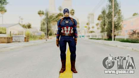 Captain America Civil War - Captain America für GTA San Andreas zweiten Screenshot