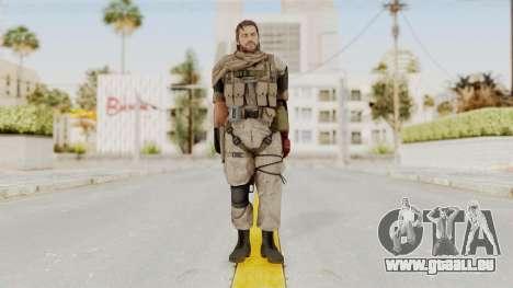 MGSV The Phantom Pain Venom Snake Sc No Patch v3 pour GTA San Andreas deuxième écran