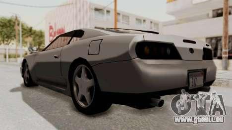 Jester Supra pour GTA San Andreas vue de droite