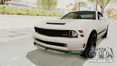 GTA 5 Vapid Dominator v2 SA Style pour GTA San Andreas