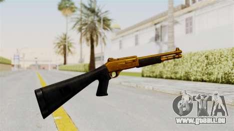 XM1014 Gold pour GTA San Andreas deuxième écran