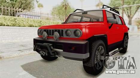GTA 5 Karin Beejay XL IVF für GTA San Andreas