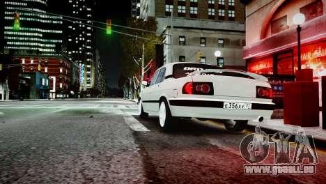 GAZ 3110 Turbo WRX STI pour GTA 4 Vue arrière