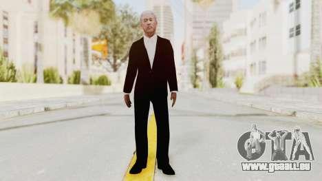 Batman Begins - Morgan Freeman pour GTA San Andreas deuxième écran