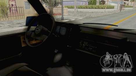 Chevrolet Astro 1988 pour GTA San Andreas vue de droite