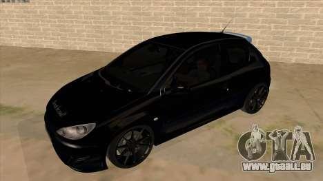 Peugeot 206 MO Edit pour GTA San Andreas