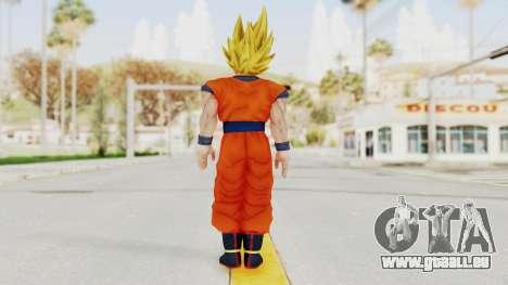 Dragon Ball Xenoverse Goku SSJ2 für GTA San Andreas dritten Screenshot