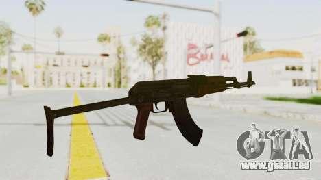 kbk AKMS pour GTA San Andreas troisième écran