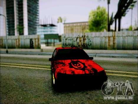 2109 Agressif pour GTA San Andreas sur la vue arrière gauche