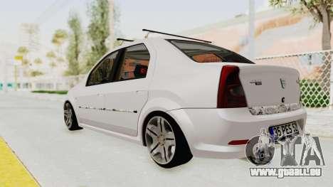 Dacia Logan 2013 für GTA San Andreas linke Ansicht