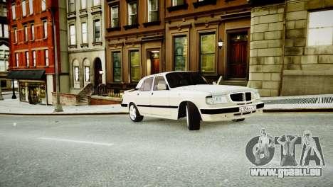 GAZ 3110 Turbo WRX STI für GTA 4 Innenansicht
