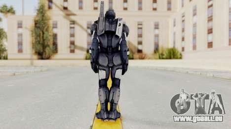Captain America Civil War - War Machine pour GTA San Andreas troisième écran