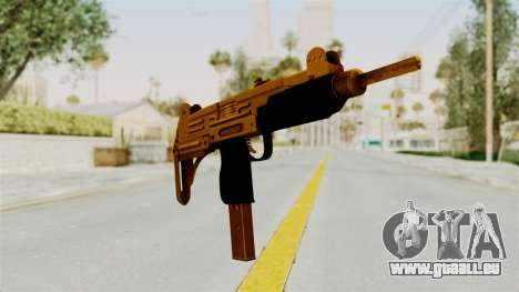 Uzi Gold pour GTA San Andreas deuxième écran