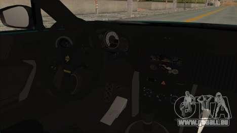 Scion FRS Rocket Bunny Killagram v1.0 pour GTA San Andreas vue intérieure