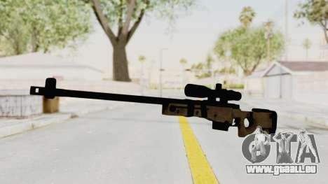 L96A1 pour GTA San Andreas deuxième écran