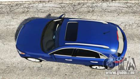 GTA 5 Infiniti FX S50 vue arrière