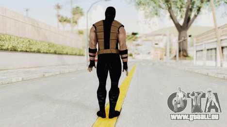 Mortal Kombat X Klassic Tremor für GTA San Andreas dritten Screenshot