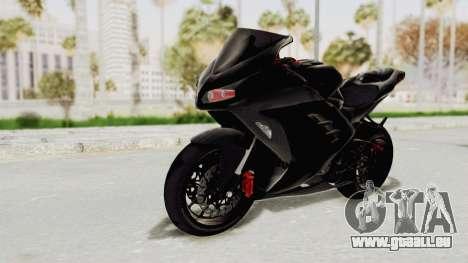Kawasaki Ninja 300 FI Modification pour GTA San Andreas vue de droite