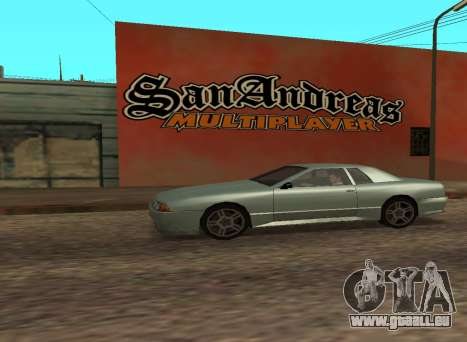 San Andreas Multiplayer Graffiti für GTA San Andreas dritten Screenshot