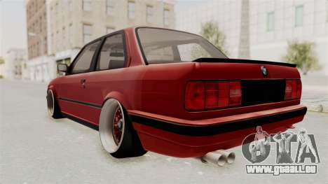 BMW M3 E30 Camber Low pour GTA San Andreas laissé vue