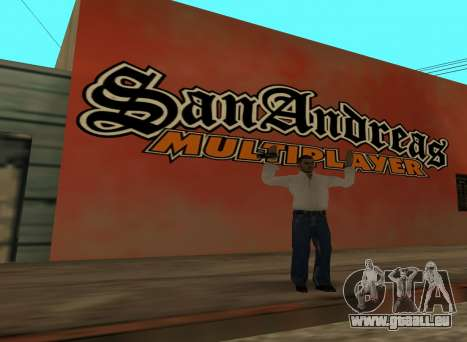 San Andreas Multiplayer Graffiti für GTA San Andreas zweiten Screenshot