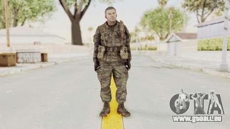 COD BO SOG Mason v1 pour GTA San Andreas deuxième écran