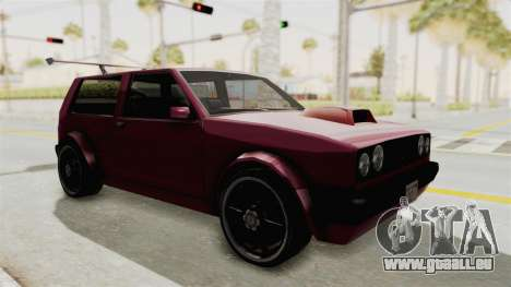 New Club Modification für GTA San Andreas rechten Ansicht