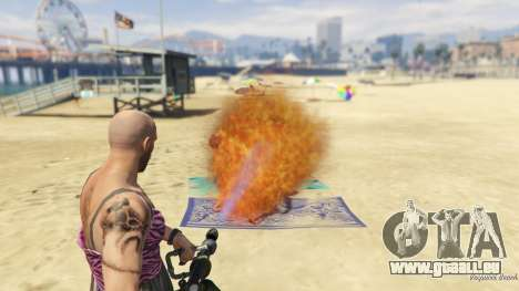 GTA 5 Real Flamethrower 1.5