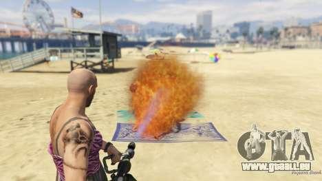 Real Flamethrower 1.5 für GTA 5