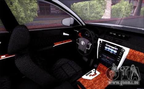 Toyota Camry V6 Sprot Edition pour GTA San Andreas vue de côté