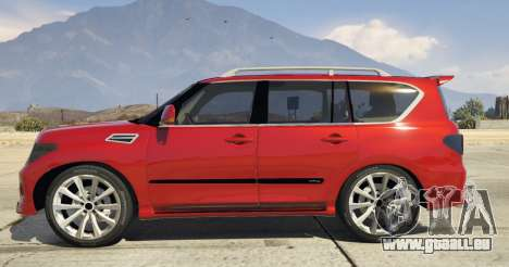 2014 Nissan Patrol Impul für GTA 5