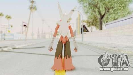 Mega Blaziken pour GTA San Andreas troisième écran