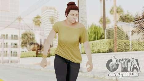 GTA 5 Online Female Skin 1 pour GTA San Andreas