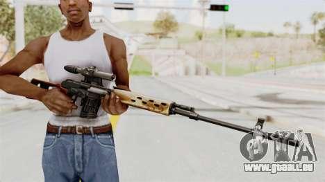 Sniper with New Realistic Crosshair pour GTA San Andreas troisième écran
