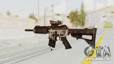 P416 für GTA San Andreas zweiten Screenshot